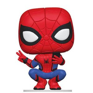 [Spider-Man: Far From Home: Pop! Vinyl Figure: Spider-Man (Hero Suit) (Product Image)]