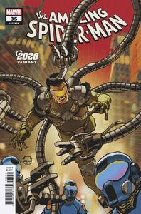 [Amazing Spider-Man #35 (Johnson 2020 Variant 2099) (Product Image)]