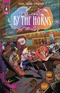 [By The Horns #4 (Cover B 10 Copy Max Bare Unlocked) (Product Image)]