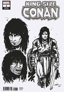 [King-Size Conan #1 (Eastman Design Variant) (Product Image)]