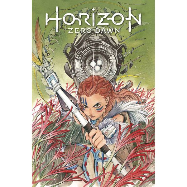 [The cover for Horizon Zero Dawn #1 (Cover E Momoko)]