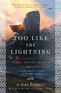 [Terra Ignota: Book 1: Too Like The Lightning (Product Image)]