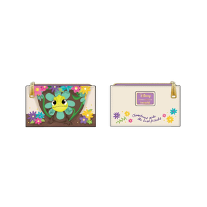 [Disney: Tangled: Loungefly Flap Wallet: Pascal Flower (Product Image)]