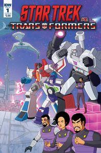 [Star Trek Vs Transformers #1 (Cover B Murphy) (Product Image)]