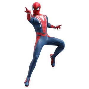 [Marvel's Spider-Man Video Game: Hot Toys Action Figure: Spider-Man Advance Suit (Product Image)]