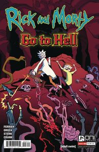 [Rick & Morty: Go To Hell #3 (Cover A Oroza) (Product Image)]