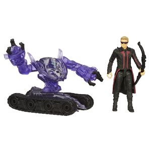 [Avengers: Age Of Ultron: Wave 1 Action Figures: Hawkeye Vs Sub Ultron (2.5 Inch Series) (Product Image)]