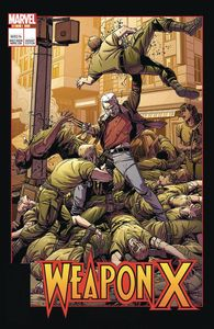 [Weapon X #12 (Laming Lenticular Homage Variant) (Legacy) (Product Image)]