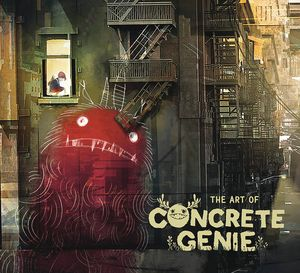 [The Art Of Concrete Genie (Hardcover) (Product Image)]