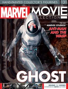 [Marvel Movie Figurine Collection #131: Ghost Clear Polyresin (Product Image)]