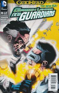 [Green Lantern: New Guardians #36 (Godhead) (Product Image)]
