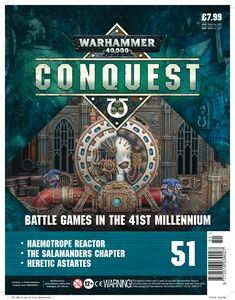 [Warhammer 40K: Conquest: Figurine Collection #51 (Product Image)]