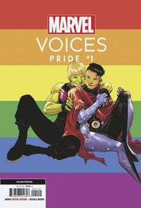 [Marvels Voices: Pride #1 (2nd Printing Variant) (Product Image)]