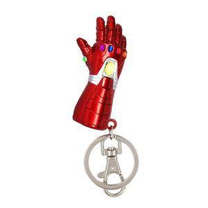 [Avengers: Endgame: Pewter Keyring: Iron Man Nano Infinity Gauntlet (Product Image)]