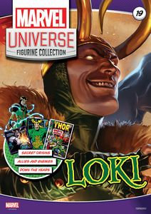 [Marvel Universe Figurine Collection #19: Loki (Product Image)]