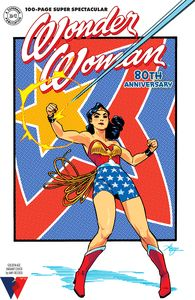 [Wonder Woman: 80th Anniversary: 100-Page Super Spectacular (Amy Reeder Golden Age Variant) (Product Image)]