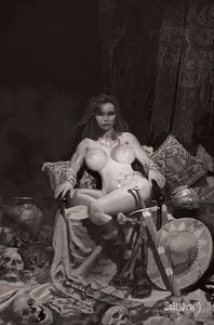 [Red Sonja: Price Of Blood (Suydam Black & White Virgin Variant) (Product Image)]