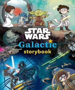 [Star Wars: Galactic Storybook (Hardcover) (Product Image)]