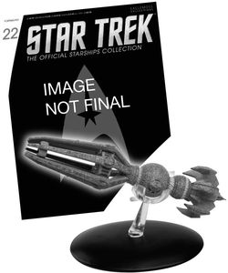 [Star Trek: Starships Figure Collection #22 Krenim Temporal Weapon Ship (Product Image)]