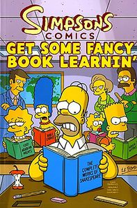 [Simpsons: Get Some Fancy Book Learnin' (Titan Edition) (Product Image)]