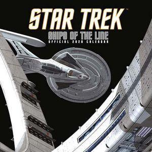 [Star Trek: Ships Of The Line: Square Calendar: 2020 (Product Image)]