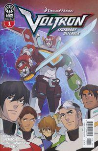 [The cover for Voltron: Legendary Defender: Volume 2 #1]