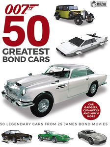 [50 Greatest James Bond Cars (Hardcover) (Product Image)]