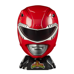 [Mighty Morphin Power Rangers: Legacy Replica Helmet: Red Ranger (Product Image)]