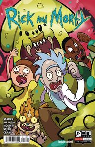 [Rick & Morty #56 (Cover B Allen-Mcdowell) (Product Image)]