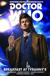 [Doctor Who: The Tenth Doctor: Titan: Volume 8: Breakfast At Tyranny's (Product Image)]