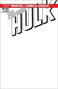 [Incredible Hulk #181 (Facsimile Blank Variant) (Product Image)]
