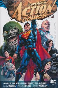 [Superman: Action Comics: Book 1 (Rebirth) (Deluxe Edition Hardcover) (Product Image)]