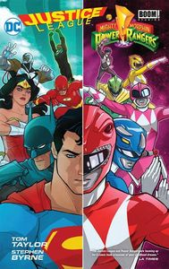 [Justice League/Power Rangers (Hardcover) (Product Image)]