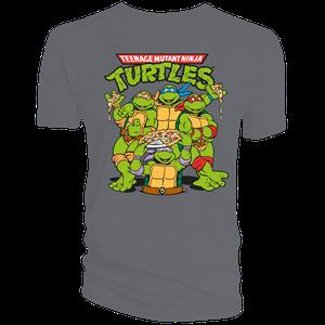 [Teenage Mutant Ninja Turtles: T-Shirt: Group (Product Image)]