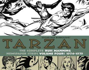 [Tarzan: Russ Manning Newspaper Strips: Volume 4: 1974-1979 (Hardcover) (Product Image)]