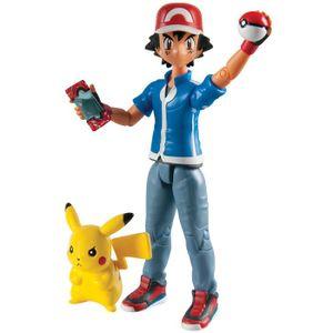 [Pokemon: Action Figure: Ash & Pikachu (Product Image)]
