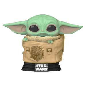 [Star Wars: The Mandalorian: Funko Pop! Bobble-Head: The Child With bag (Product Image)]