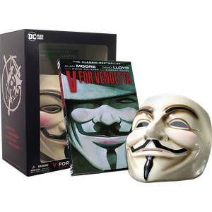 [V For Vendetta: Book & Mask Set (New Printing) (Product Image)]