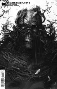[Dceased: Dead Planet #5 (Card Stock Mattina Variant) (Product Image)]