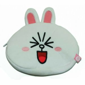 [Line Friends: Plush Pencil Case: Cony (Product Image)]