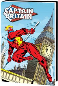 [Captain Britain: Omnibus (Wilson DM Variant Hardcover) (Product Image)]