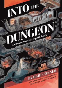 [Into The Dungeon: A Choose-Your-Own-Path Book (Product Image)]