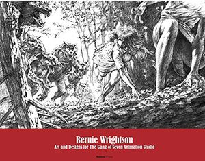 [Bernie Wrightson: Art & Designs For The Gang Of Seven Animation Studio (Hardcover) (Product Image)]