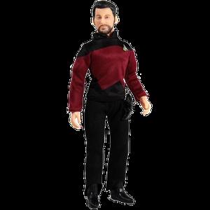 [Star Trek: The Next Generation: Action figure: Commander Will Riker (Product Image)]