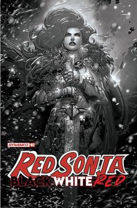 [Red Sonja: Black White Red #2 (Cover G Meyers Black & White Variant) (Product Image)]