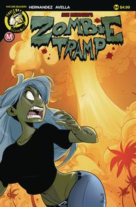 [Zombie Tramp: Ongoing #84 (Cover A Maccagni) (Product Image)]