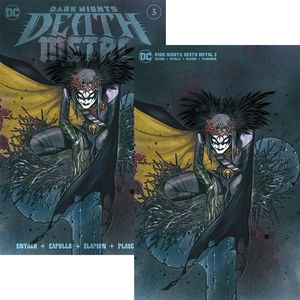 [Dark Nights: Death Metal #3 (Peach Momoko Minimal Set) (Product Image)]