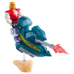 [Masters Of The Universe: Origins: Action Figure: Prince Adam With Sky Sled (Product Image)]