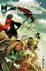 [RWBY/Justice League #5 (Product Image)]