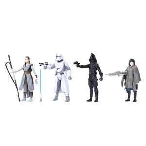 [Star Wars: The Last Jedi: Force Link Action Figure Set: Battle On Crait (Product Image)]